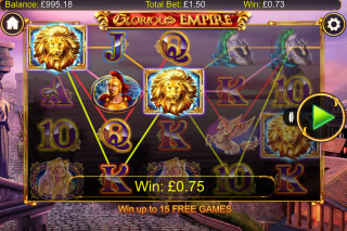 Glorious Empire Mobile Slot Game