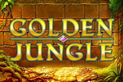 Golden Jungle Mobile Slot Logo
