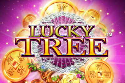 Lucky Tree Mobile Slot Logo