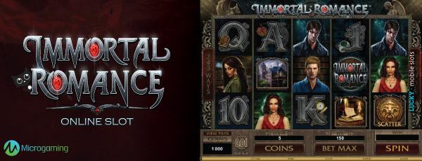 Immortal romance free slot machine
