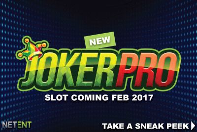 New NetEnt Joker Pro Mobile Slot Coming February 2017