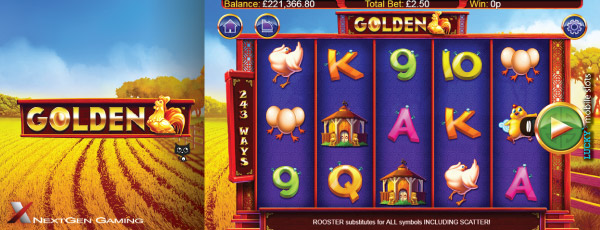 NextGen Golden Mobile Slot