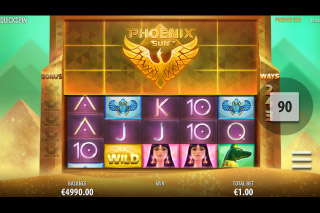 Phoenix Sun Mobile Slot Game