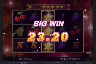 Star Fall Mobile Slot Big Win