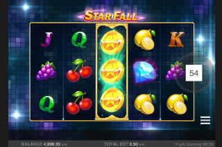 Star Fall Mobile Slot Free Spins Trigger