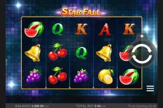 Star Fall Mobile Slot Free Game