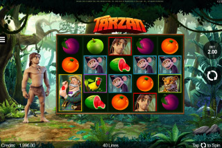 Tarzan Mobile Slot Game