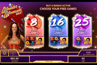 Wonder Woman Gold Mobile Slot Free Games