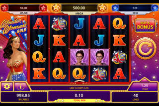 Wonder Woman Gold Mobile Slot Game