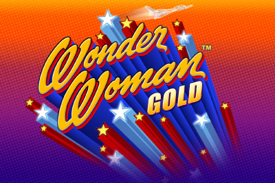 Wonder Woman Gold Mobile Slot Logo