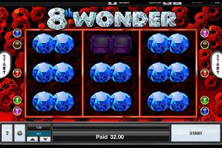 8th Wonder Mobile Slot Big Win