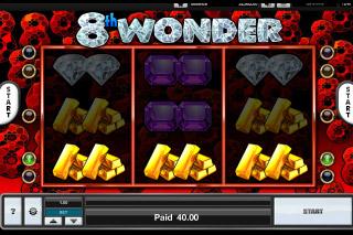 8th Wonder Mobile Slot Gold Win