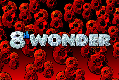 8th Wonder Mobile Slot Logo