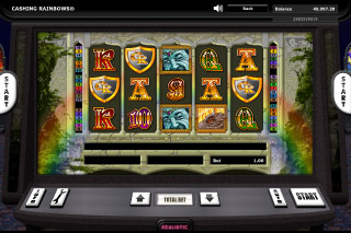 Cashing Rainbows Mobile Slot Game