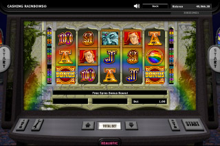 Cashing Rainbows Mobile Slot Scatters