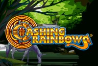 Cashing Rainbows Mobile Slot Logo