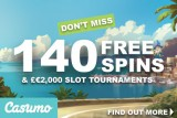 Casumo Free Spins And Tournaments This Week