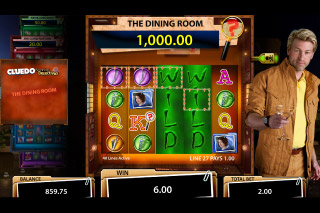 Cluedo Mobile Slot Dining Room Bonus