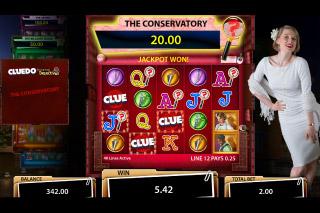 Cluedo Mobile Slot Conservatory Bonus
