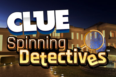 CLUEDO Spinning Detectives slot - find clues at Casumo