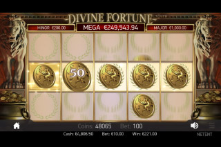 Divine Fortune Mobile Slot Mini Jackpot Win