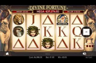 Divine Fortune Mobile Slot Game