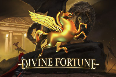 Divine Fortune Mobile Slot Logo