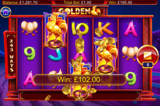 Golden Mobile Slot Free Spins Big Win