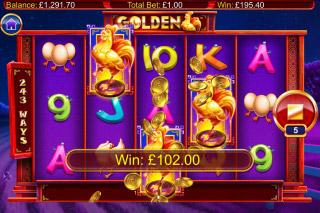 Golden Mobile Slot Free Spins Big Win