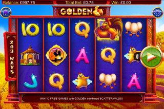 Golden Mobile Slot Game