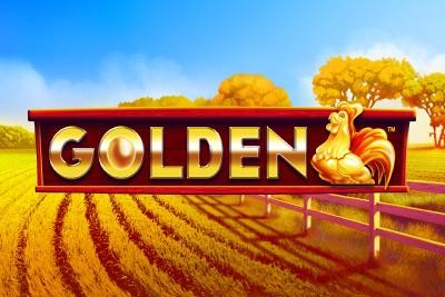 Golden Mobile Slot Logo