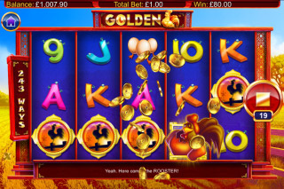 Golden Mobile Slot Scatters