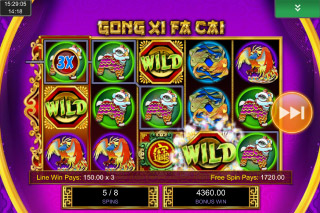Gong Xi Fa Cai Mobile Slot Free Spins