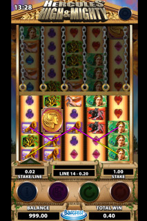 Hercules Mobile Slot Game