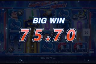 Hockey Hero Mobile Slot Big Win