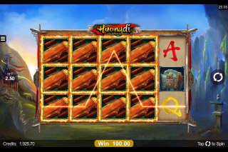 Huangdi Mobile Slot Expanding Symbols