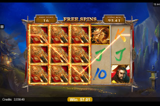 Huangdi Mobile Slot Free Spins