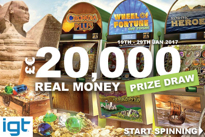 IGT Casino Real Money Prize Draw