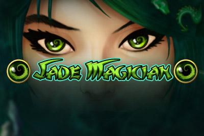 Jade Magician Mobile Slot Logo