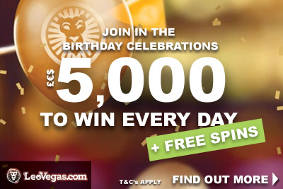 Win Money With LeoVegas Mobile Casino Or Get Free Spins