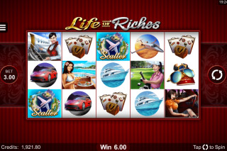 Life Of Riches Mobile Slot Game