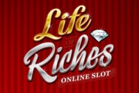 Life Of Riches Mobile Slot Logo