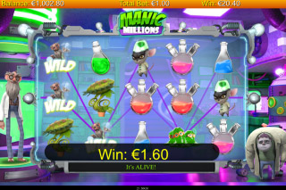 Manic Millions Mobile Slot Free Spins