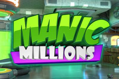 Manic Millions Mobile Slot Logo