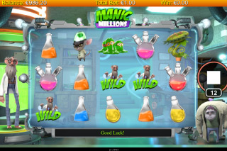 Manic Millions Mobile Slot Wilds