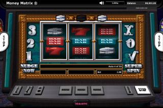 Money Matrix Mobile Slot Game