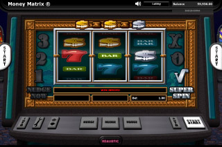 Money Matrix Mobile Slot Freature