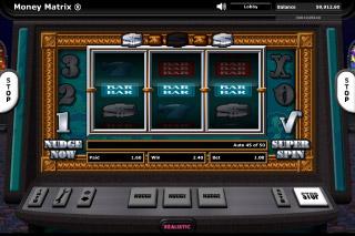 Money Matrix Mobile Slot Super Spin Win