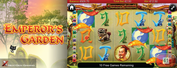 NextGen Emperor's Garden Slot On Mobile