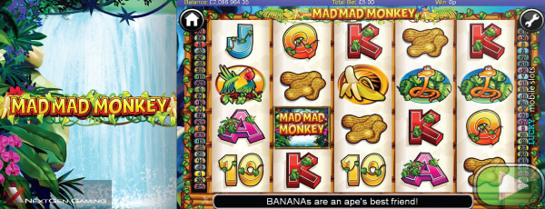 NextGen Mad Mad Monkey Mobile Slot